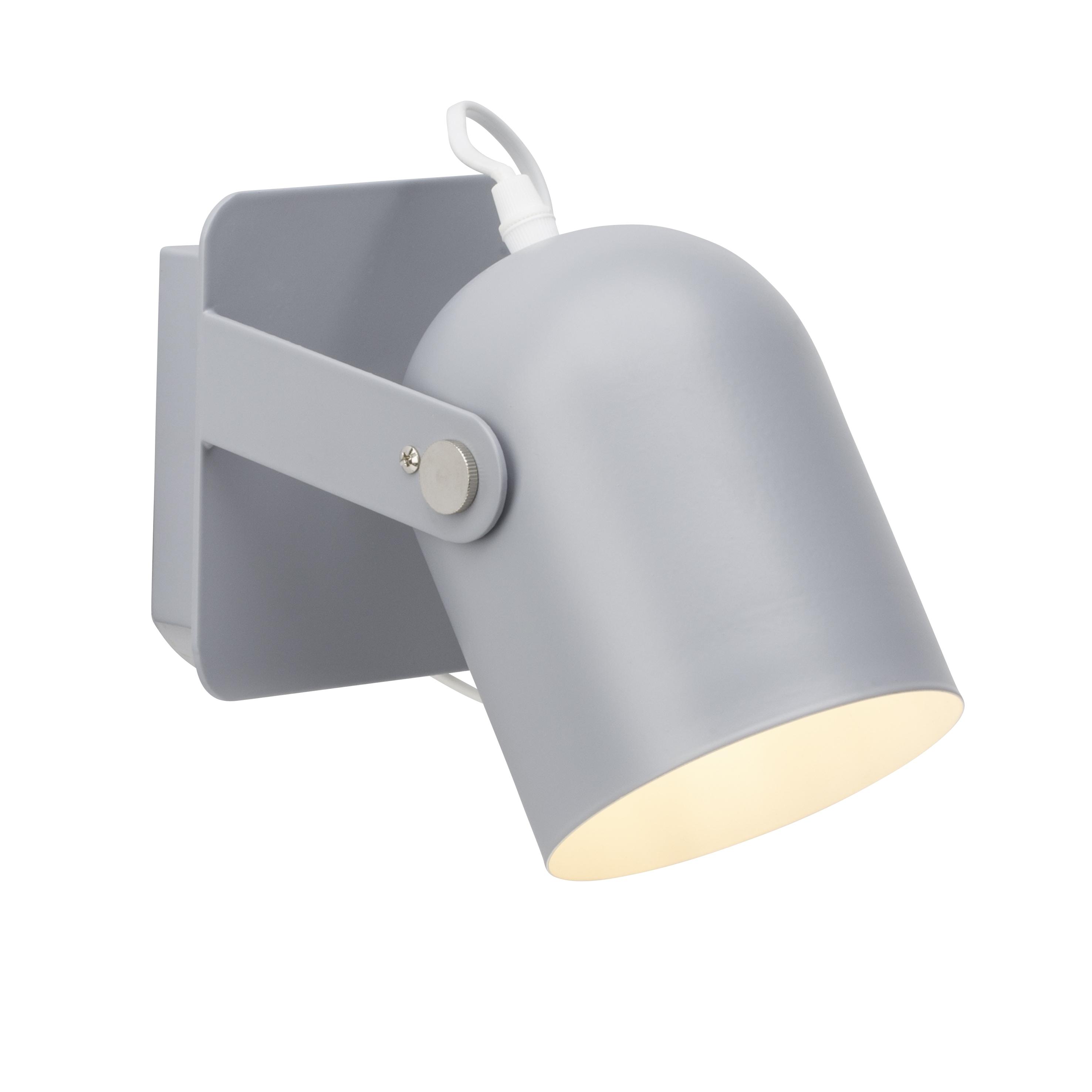 Brilliant Leuchten Yan Wandspot Schalter grau