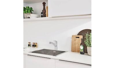 Grohe Küchenarmatur »Eurosmart DN 15«, mit ausziehbarer Brause und Einhand-Batterie, DN 15 kaufen