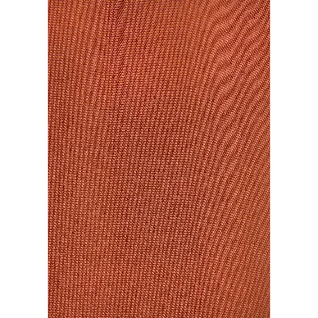 LASCANA Maxikleid, in Vokuhila-Form