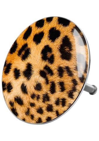 SANILO Stöpsel »Leopardenfell«, für Badewannen und Duschen, Ø 7,2 cm kaufen