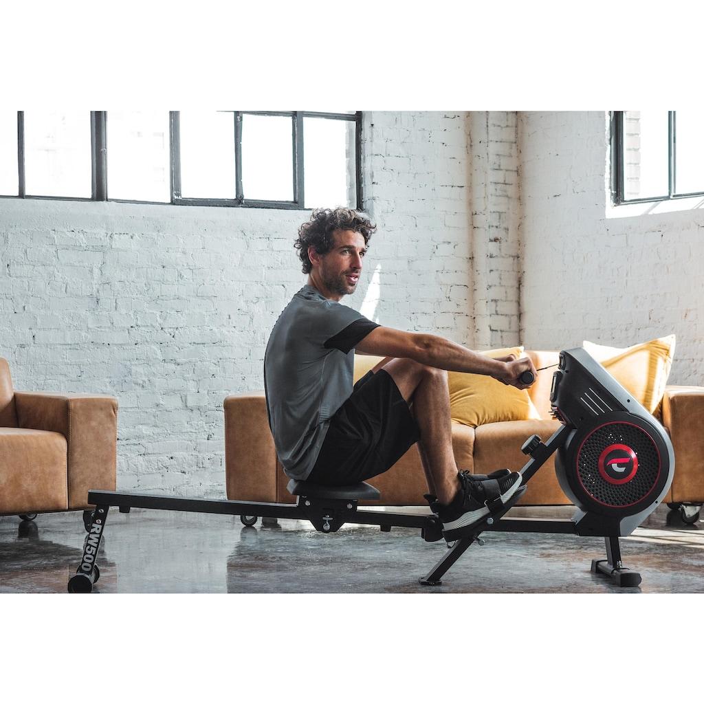 Christopeit Sport® Ruderzugmaschine »Ruderzugmaschine RW 500«, Ruderschiene platzsparend hochklappbar