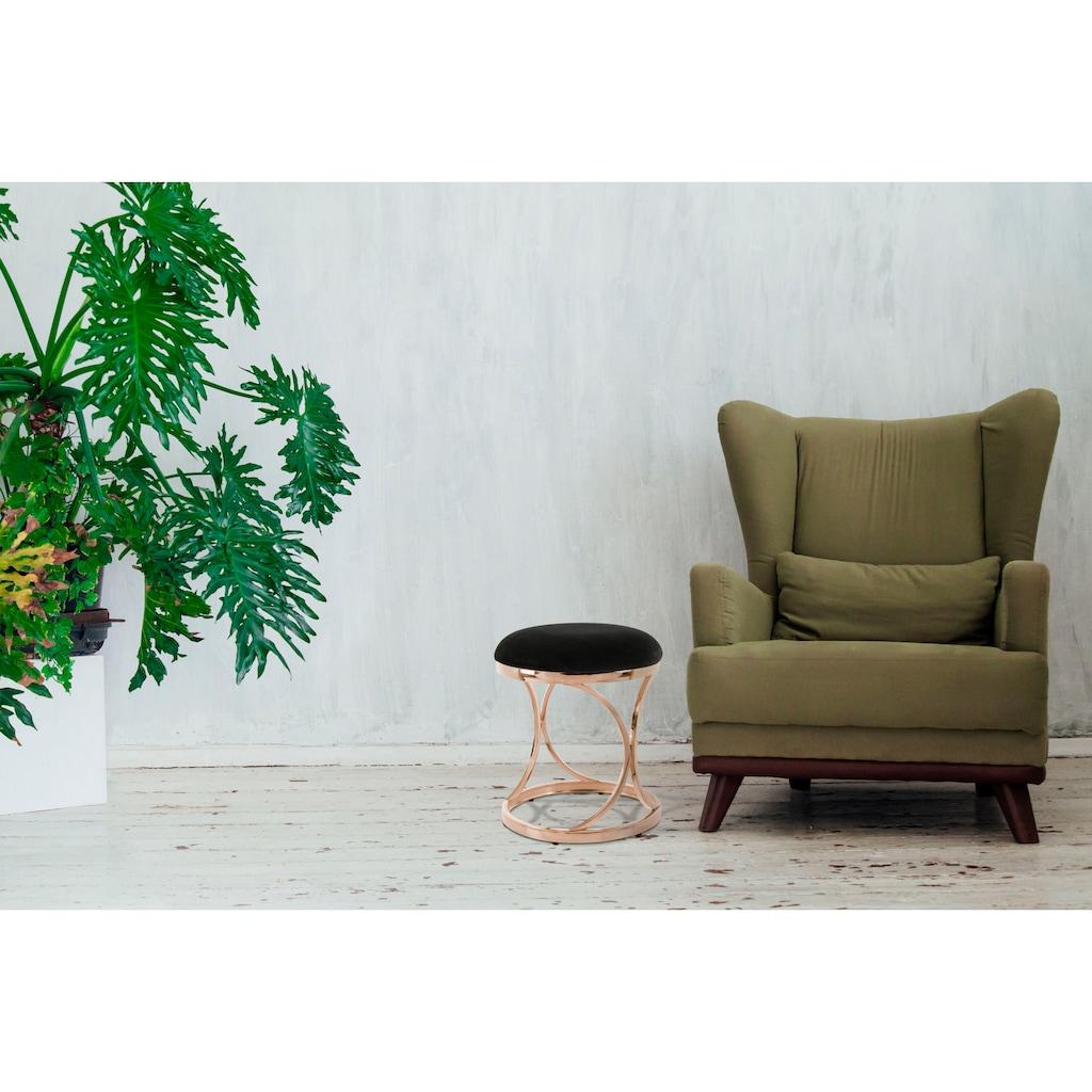 Kayoom Sitzhocker »Weyda 325«, mit stabilem Gestell aus Metall