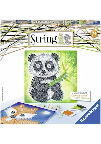 Ravensburger Kreativset »String it Midi Panda & Fox«, (Set), Made in Europe kaufen