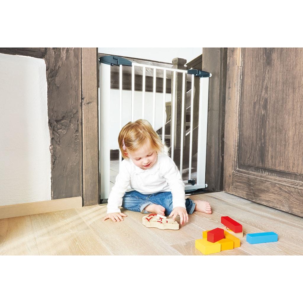 Pinolino® Türschutzgitter »Baby Lock Classic, weiß«, aus pulverbeschichtetem Metall