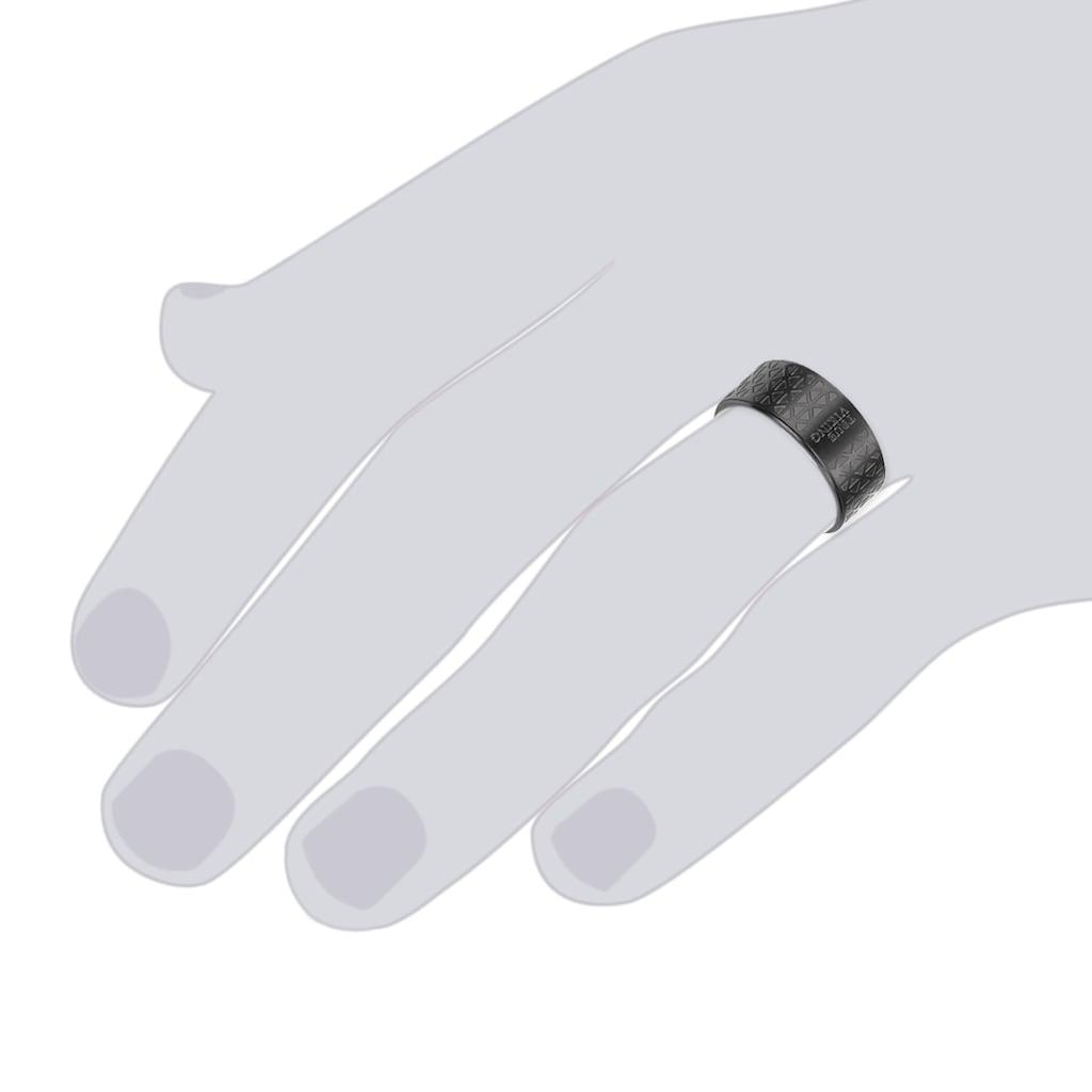 True Rebels Fingerring »X761«, (1 tlg.), aus Edelstahl