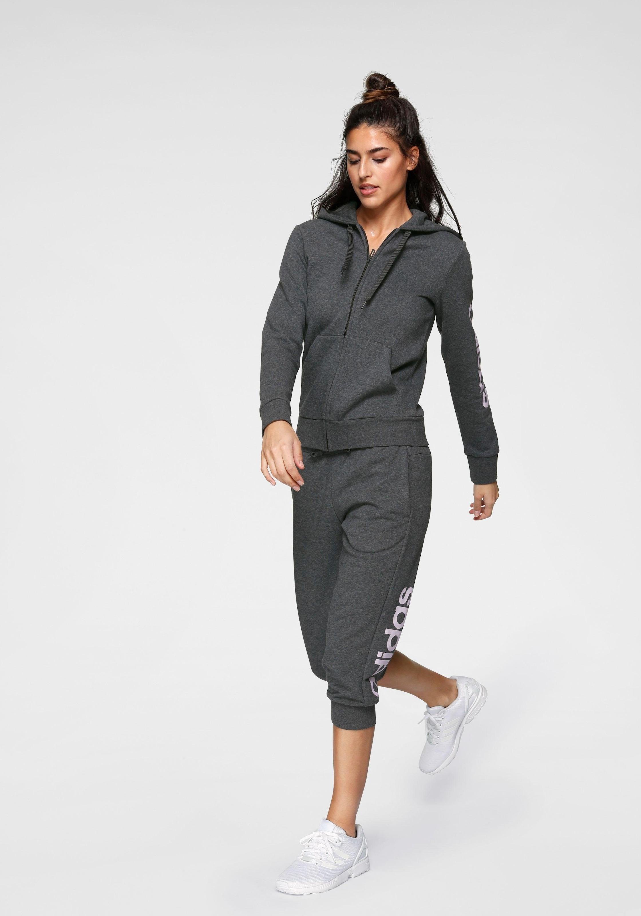 adidas performance kapuzensweatjacke essentials linear full zip hoody Kapuzensweatjacke von adidas CORE SPORT AKLBB883397969