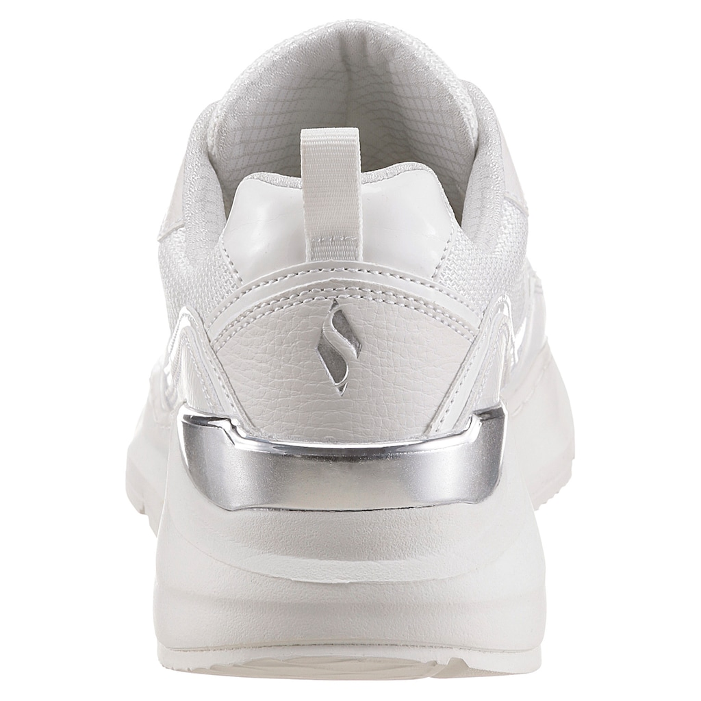 Skechers Wedgesneaker »ROVINA«, mit gepolstertem Schaftrand