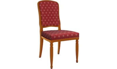 SELVA Stuhl »Vera«, Modell 1614, in drei verschiedenen Holzfarben und Stuhlbeinen,... kaufen
