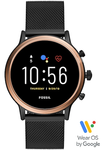 Fossil Smartwatches Smartwatch »JULIANNA HR SMARTWATCH, FTW6036« (, Wear OS by Google, mit individuell einstellbarem Zifferblatt kaufen