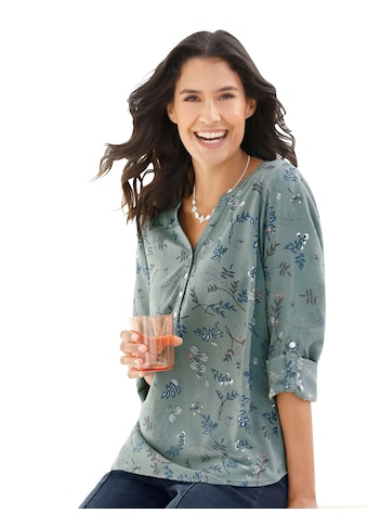 Classic Inspirationen Bluse mit modischem Druck kaufen