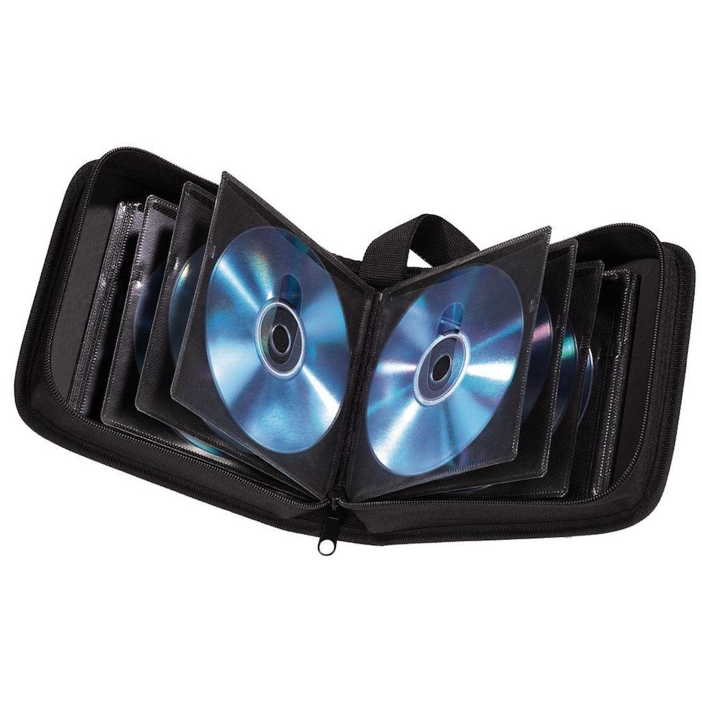 Hama CD-/DVD-/Blu-ray-Tasche 20, Schwarz »Disc-Tasche«