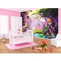 Consalnet Fototapete »Kinderzimmer Fee«, Motiv