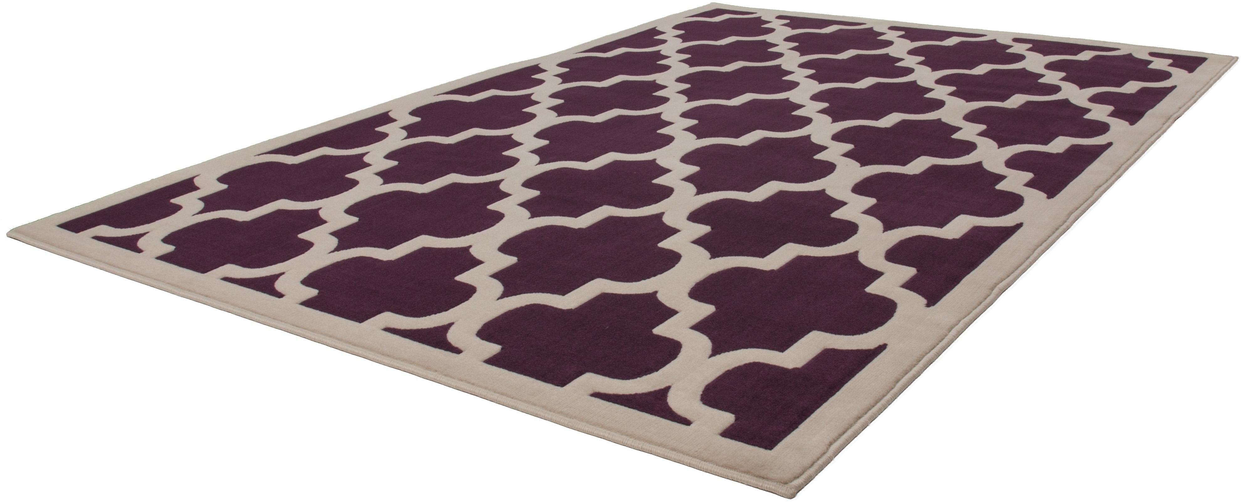 Teppich Manolya 2097 Kayoom rechteckig Höhe 10 mm