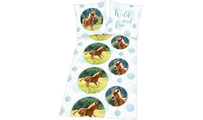 """Herding Young Collection Kinderbettwäsche »Pferde«, mit tollem """"Pferde"""" Motiv kaufen"""