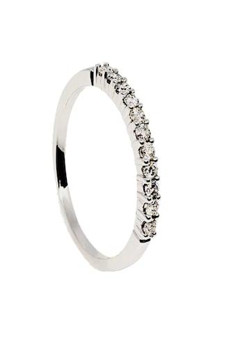 Diamonds by Ellen K. Ring »585/ -  Weißgold 11 Brillanten=0,25ct.« kaufen
