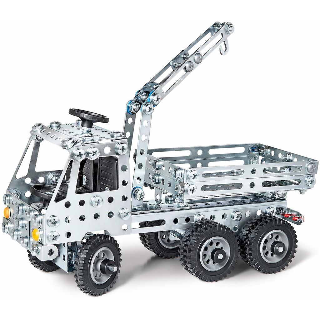 Eitech Metallbaukasten »LKW + Kipper«, (340 St.), Made in Germany