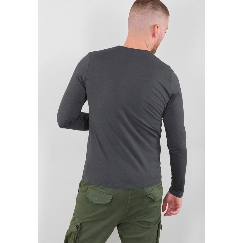 Alpha Industries Langarmshirt »BASIC T - LS«