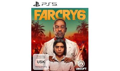 UBISOFT Spiel »FAR CRY® 6«, PlayStation 5 kaufen