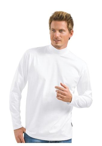 Trigema Langarm Shirt mit Stehkragen kaufen