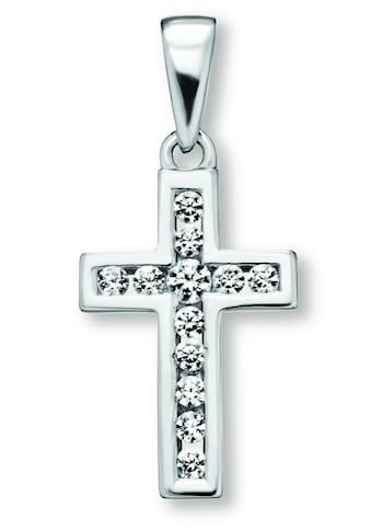 ONE ELEMENT Kettenanhänger »Kreuz Anhänger aus 925 Silber Zirkonia« kaufen