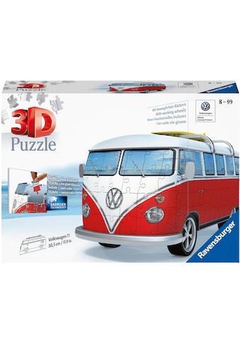 Ravensburger 3D-Puzzle »Volkswagen Bus T1«, Made in Europe, FSC® - schützt Wald - weltweit kaufen