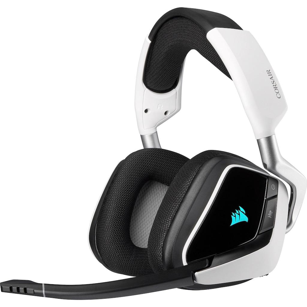 Corsair Gaming-Headset »Void ELITE Wireless White«, WLAN (WiFi)
