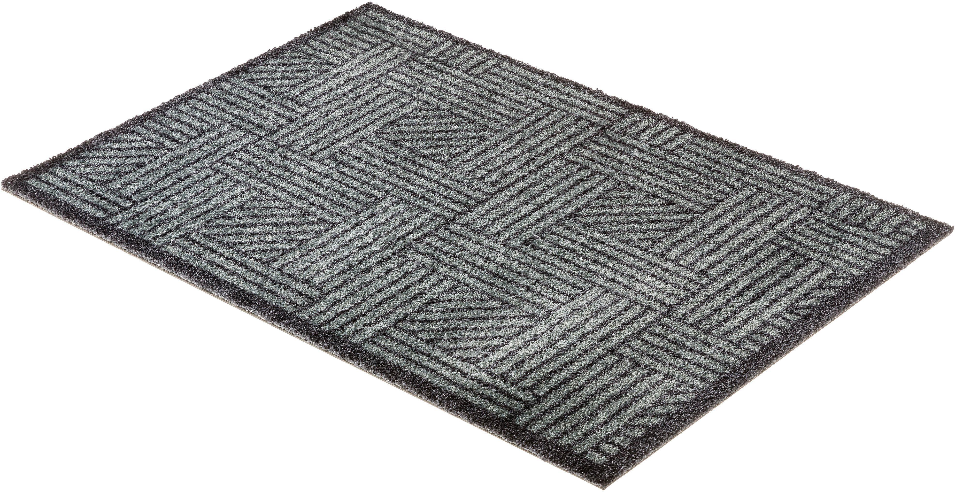 Fußmatte Manhattan 004 SCHÖNER WOHNEN-Kollektion rechteckig Höhe 7 mm maschinell getuftet
