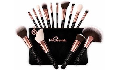 Luvia Cosmetics Kosmetikpinsel-Set »Essential Brushes - Black Diamond«, (15 tlg., inkl. Pinseltasche), vegan kaufen