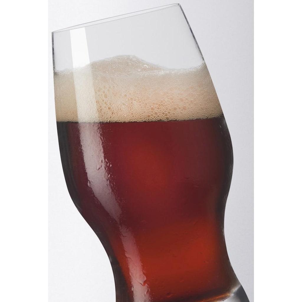 LEONARDO Bierglas »Taverna«, (Set, 8 tlg.), Inhalt 0,33 Liter, Höhe 15 cm, 8-teilig