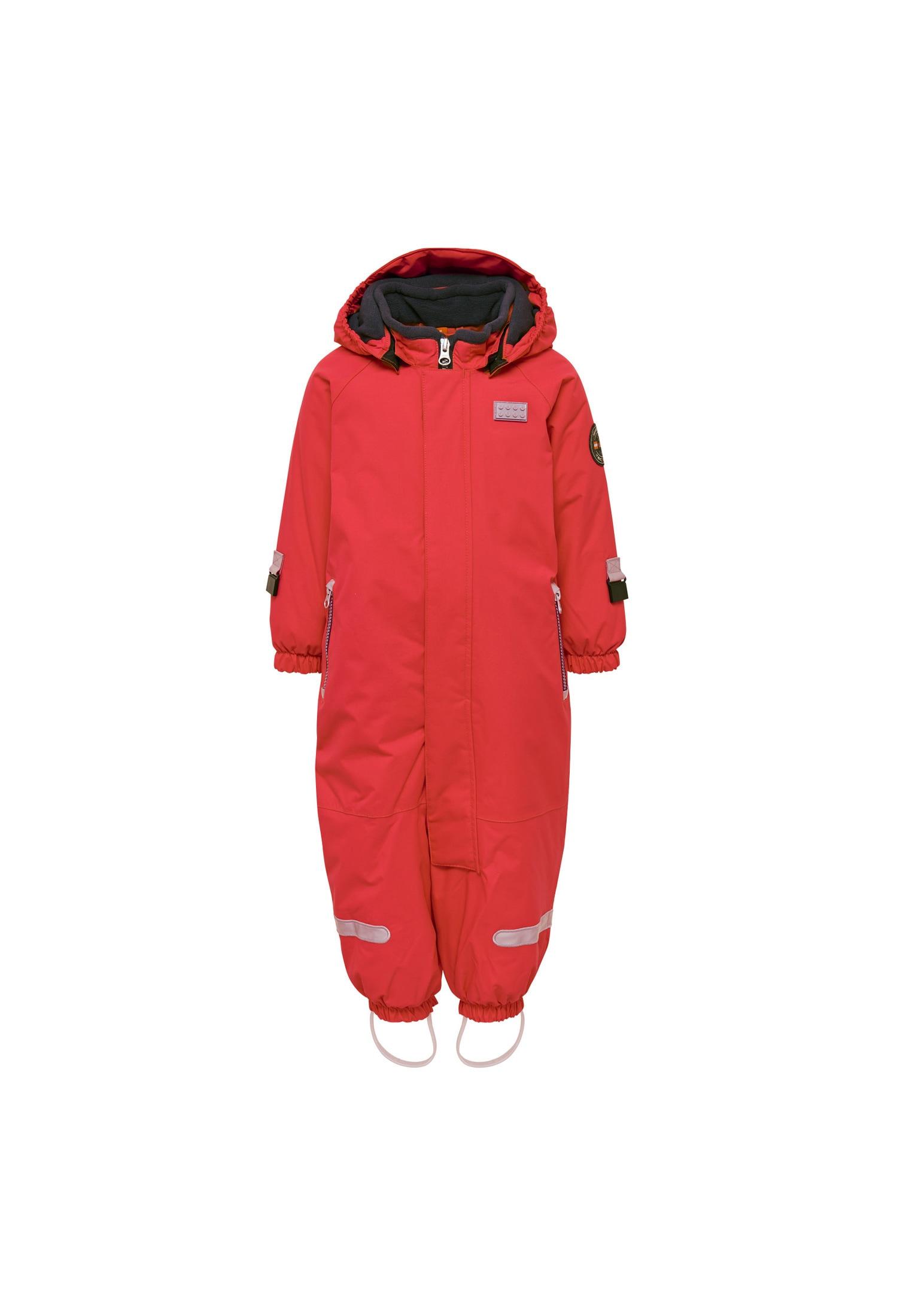 LEGO Wear Skianzug LWJULIAN 711 rot Jungen Schneeanzüge Schneebekleidung Jungenkleidung