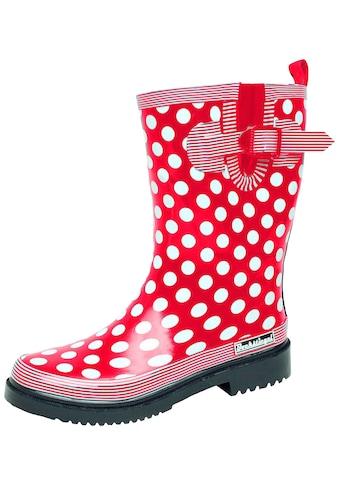 Gummistiefel »Damen Regenstiefel Dorin-K rot/multi« kaufen