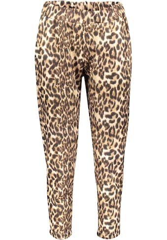 Please Jeans Jogger Pants »P640«, mit Leomuster Allover-Print kaufen