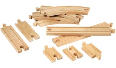 BRIO® Gleise-Set »Brio WORLD Kleines Schienensortiment«, (Set), aus Holz, FSC®-Holz... kaufen