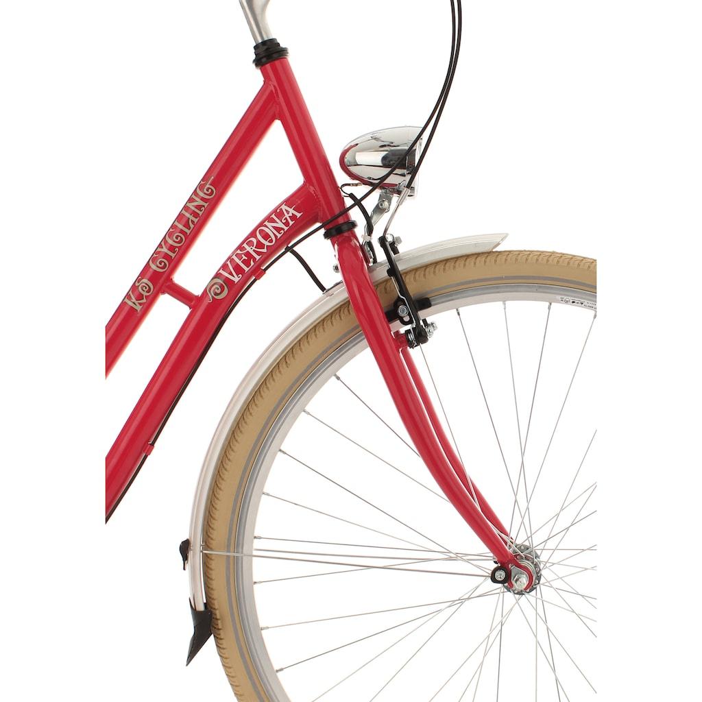 KS Cycling Cityrad »Verona«, 7 Gang, Shimano, Nexus Schaltwerk, Nabenschaltung