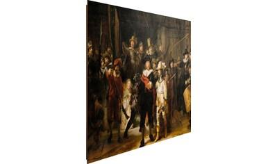 Reinders! Deco-Panel »Rembrandt Die Nachtwache« kaufen