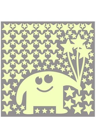 Wall - Art Wandtattoo »Leuchtsticker kleine Monster« (1 Stück) kaufen