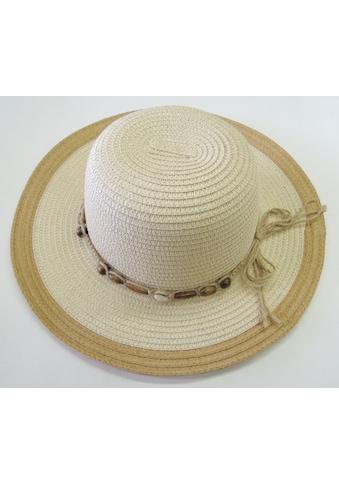 Chaplino Sonnenhut, mit Perlenhutband kaufen