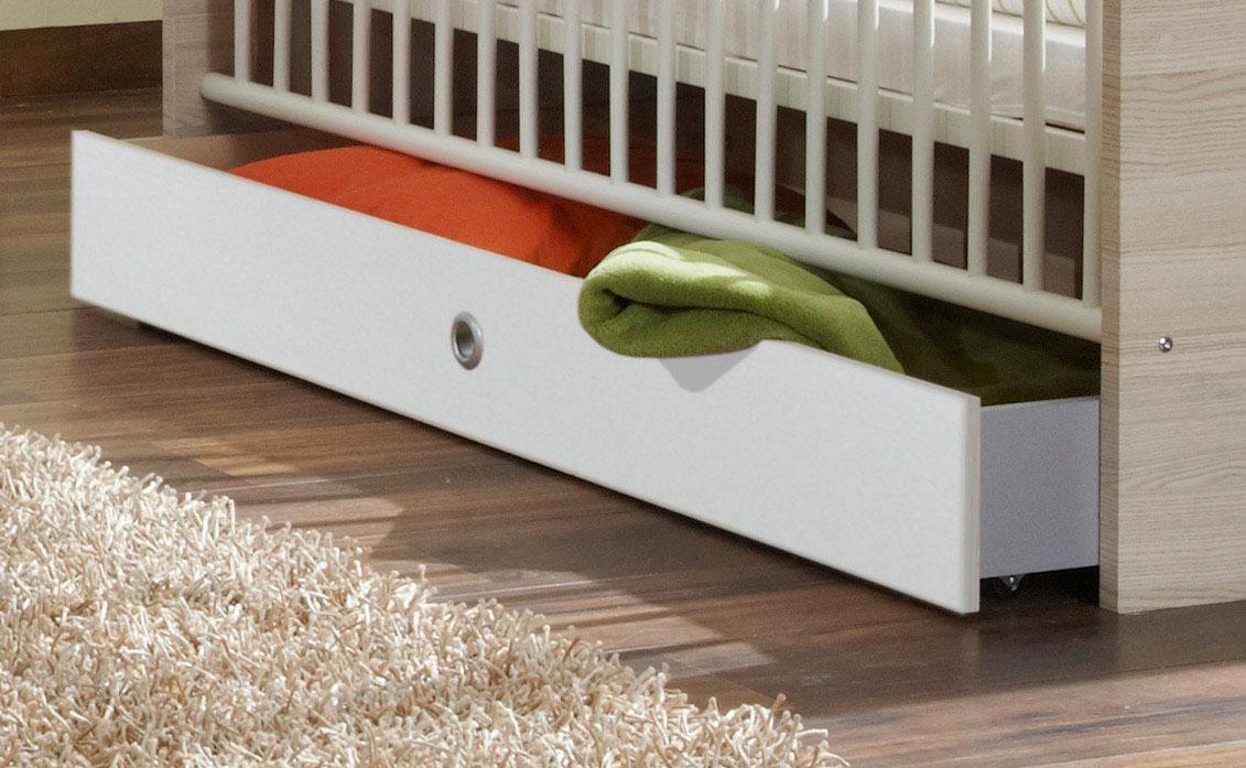 Bettschubkasten weiß Kinder Kinderbetten Kindermöbel