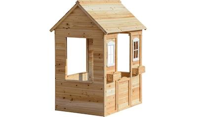 dobar Spielhaus, BxTxH: 91x107x145 cm, mit 2 kleinen Pflanzkästen kaufen