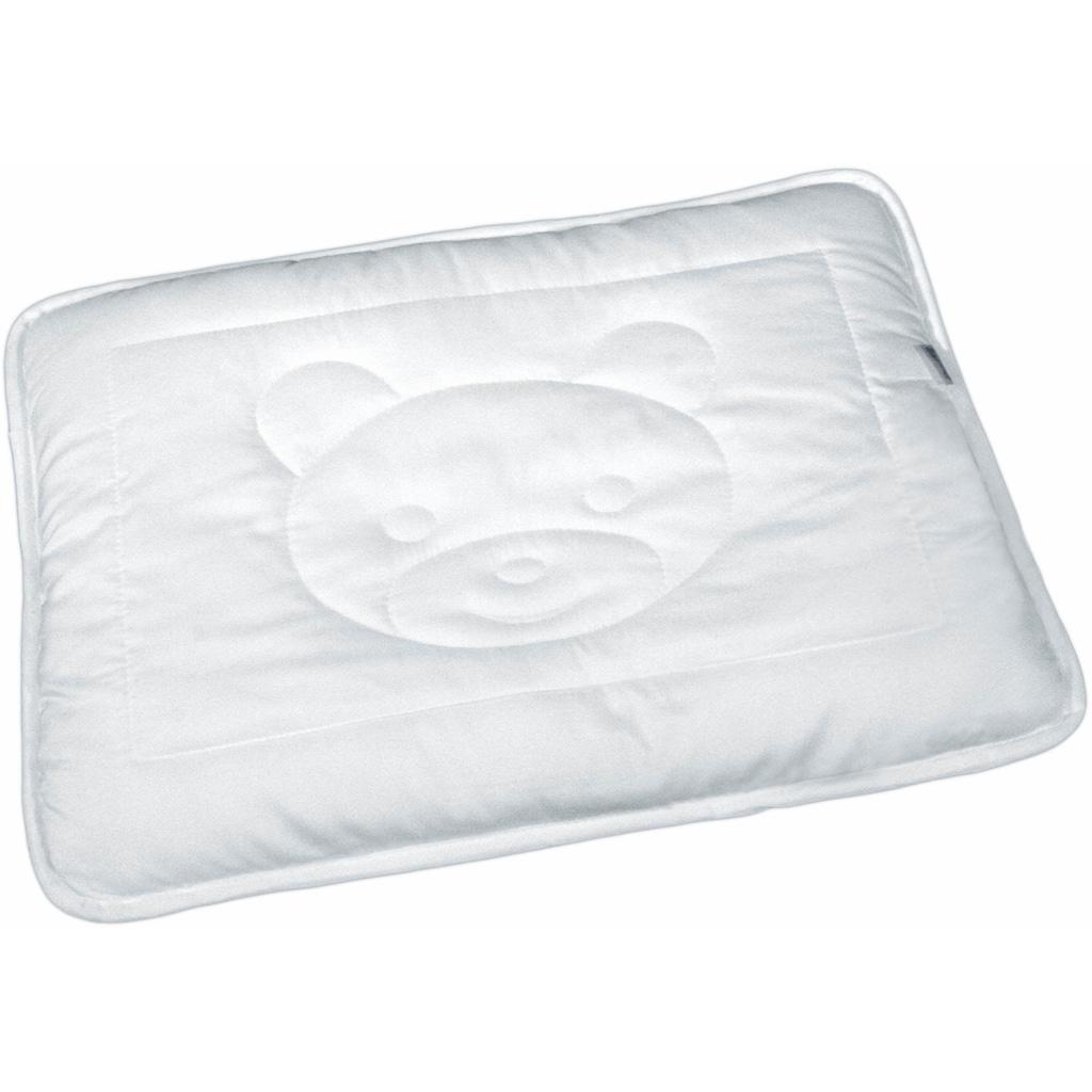 MESANA Kinderbettdecke + Kopfkissen »Bär«, (Spar-Set)