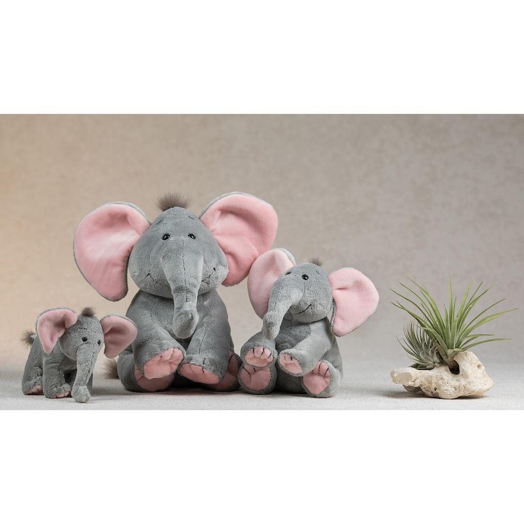 Schaffer® Kuscheltier »Elefant Baby Sugar, 19 cm, grau/rosé«