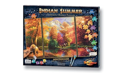 Schipper Malen nach Zahlen »Triptychon - Indian Summer«, Made in Germany kaufen