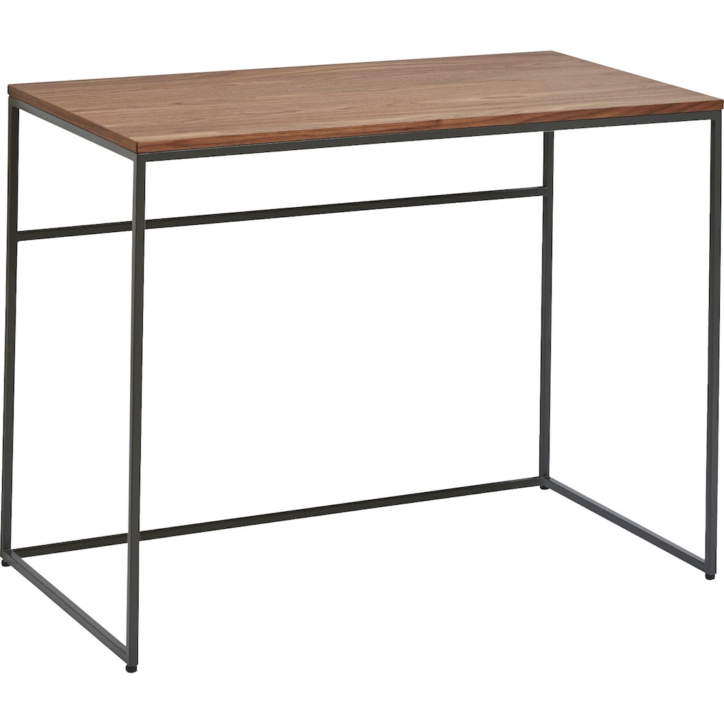 now! by hülsta Schreibtisch »CT 17«, mit grauem Gestell, perfekt auch als Schminktisch