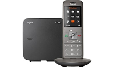 Gigaset »CL660« Schnurloses DECT - Telefon (Mobilteile: 1) kaufen