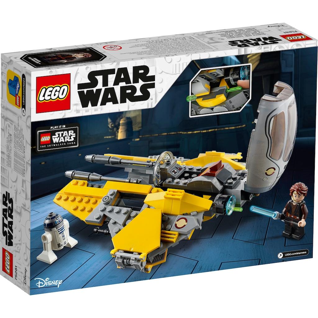 LEGO® Konstruktionsspielsteine »Anakins Jedi™ Interceptor (75281), LEGO® Star Wars™«, (248 St.), Made in Europe