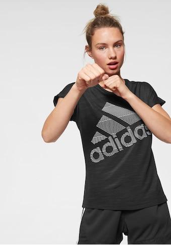 adidas Performance Funktionsshirt »SHORT SLEEVE BATCH OF SPORTS LOGO TEE« kaufen