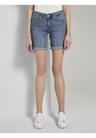 TOM TAILOR Jeansshorts »Alexa Slim Bermuda Jeans-Shorts« kaufen
