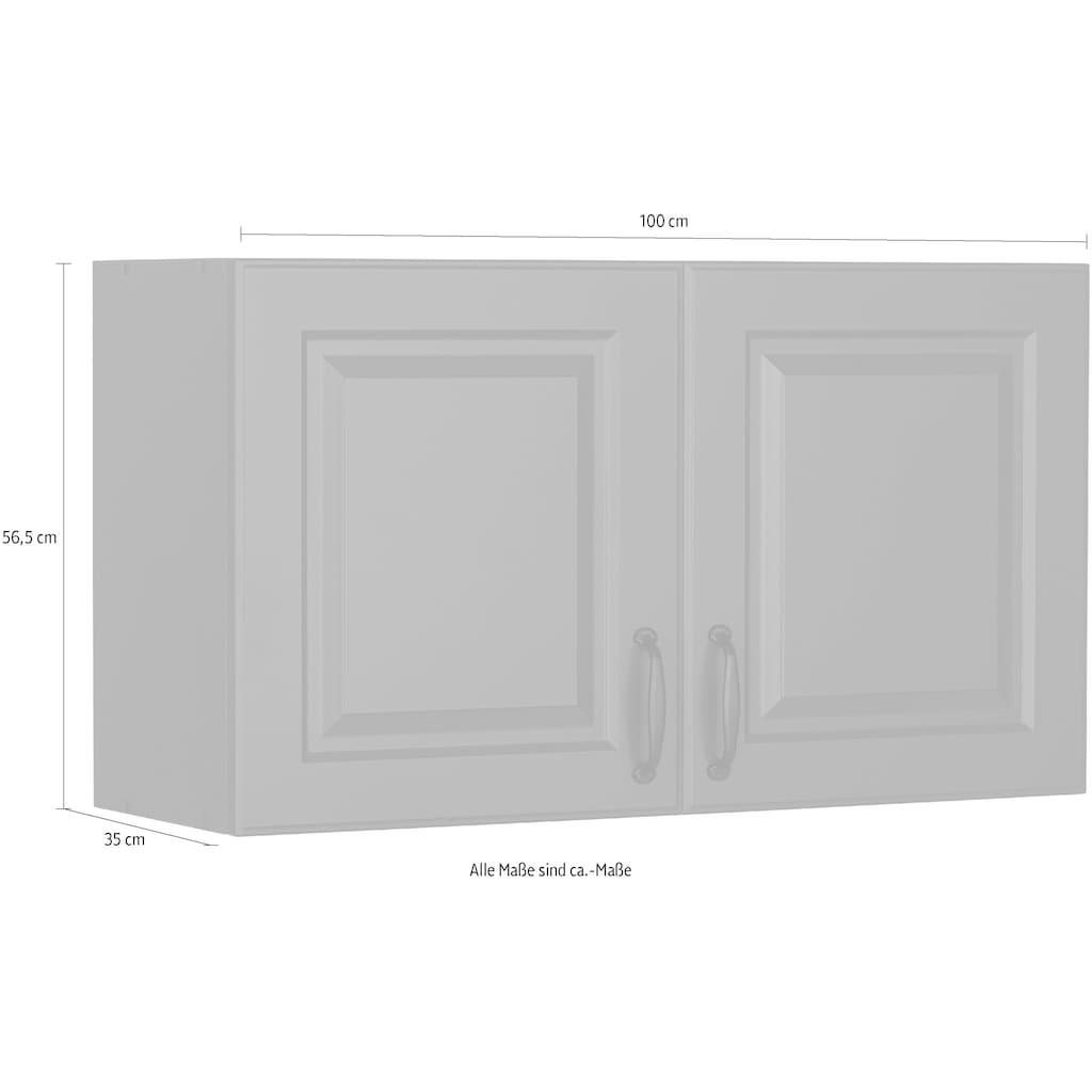 wiho Küchen Hängeschrank »Erla«, 100 cm breit mit Kassettenfront