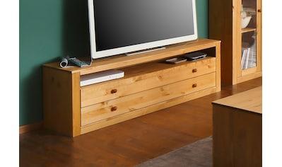 Home affaire Lowboard »Agave«, aus massiver Kiefer, Fernsehtisch kaufen