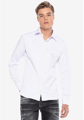 Cipo & Baxx Businesshemd, im trendigen Slim-Fit-Schnitt kaufen